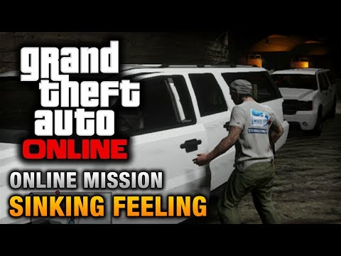GTA Online - Mission - Sinking Feeling [Hard Difficulty]