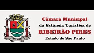 Transmissão ao vivo da Sessão Ordinária da Câmara Ribeirão Pires
