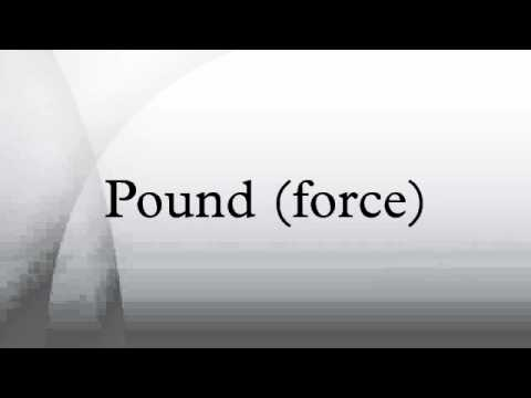 Pound (force)