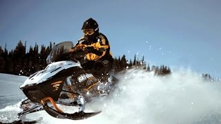 Compilation d'accidents de motos neige n°1 | Crash snowmobile and fails #1 thumbnail