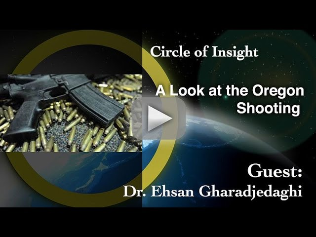 A Look in the Mind of a Mass Shooter- Oregon Shooting