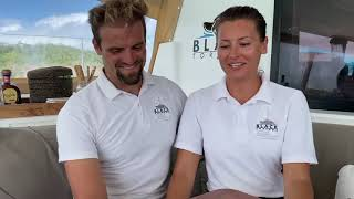 Catamaran Black Tortuga Yacht Charter Crew Interview & Tour