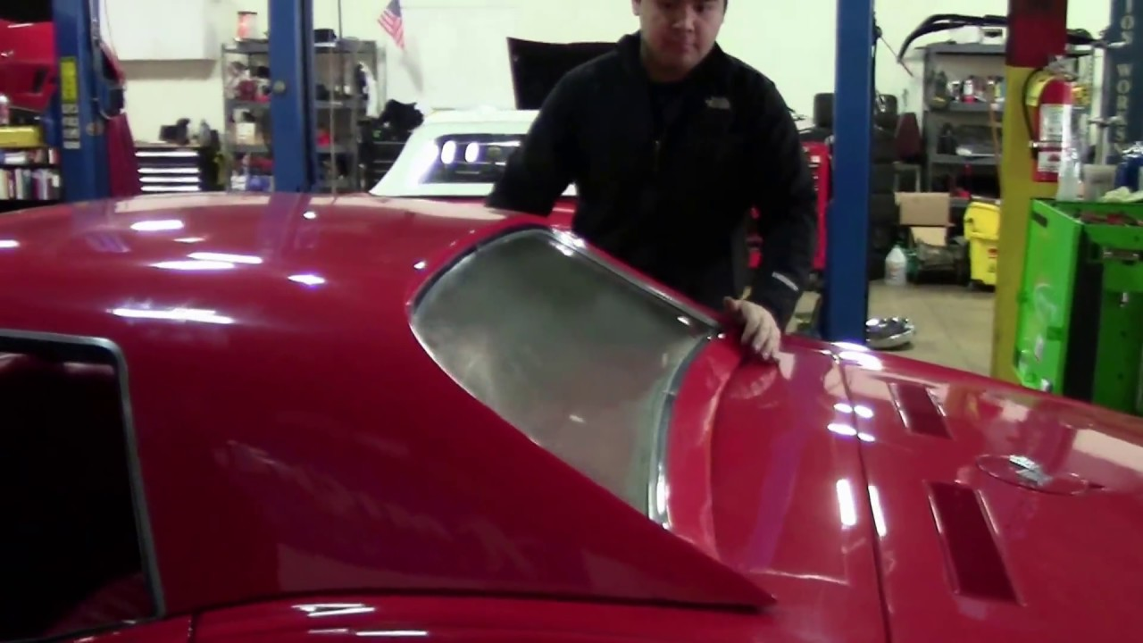 How To Install And Remove A Hardtop On 1968 75 Corvette C3 Convertible
