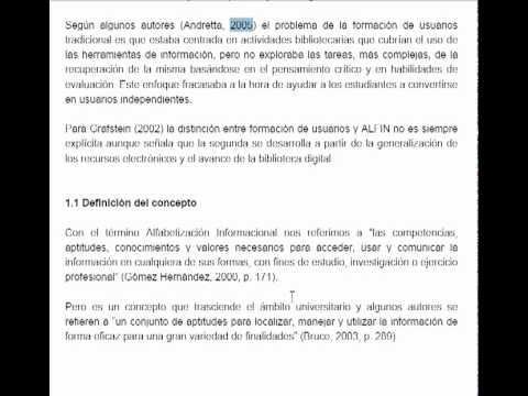 Competències Informacionals - Cita bibliogràfica