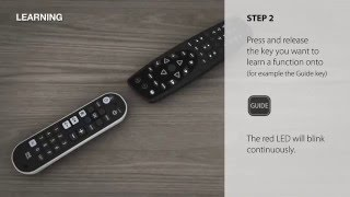 universal remote control urc 6820 zapper how to setup by learning