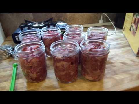 Prepper Pam Pressure canning corn beef
