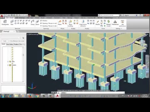 AutoCad Structural Detailing-Formwork ASD 2015
