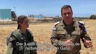 Lt.col.Jonathan Conricus   Interviu Cu Un Operator Al Sistemului Antirachetă Iron Dome