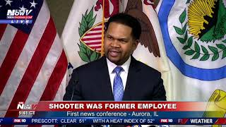 5 PEOPLE DEAD: First police update on the workplace shooting in Aurora, Illinois (FNN)