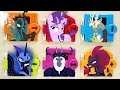 My Little Pony Villains Took Twilight's Crown Trapped Doors Surprise
