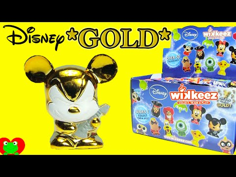 Disney Wikkeez Blind Bags 50+ To Collect Plus Gold Rockstar Mickey