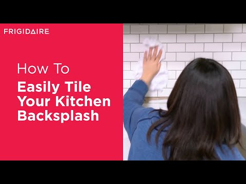 How To Tile Your Kitchen Backsplash In