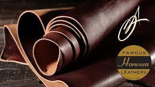 Horween Leather - Bracken Dark Brown 5-6oz