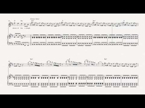 Violin - Reptilia - The Strokes - Sheet Music, Chords, & Vocals