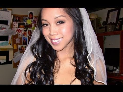 Affordable DIY Bridal Hair & Makeup -itsJudyTime - YouTube