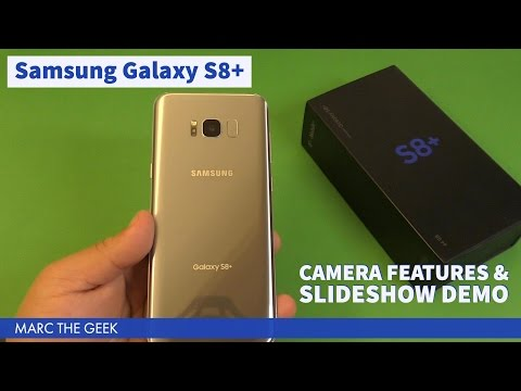 Samsung Galaxy S8 Camera Features & Slideshow Demo