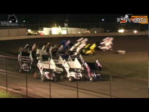 ASCS Sooner Vs. Lone Star @ Cowtown Speedway 7-21-12 Highlights