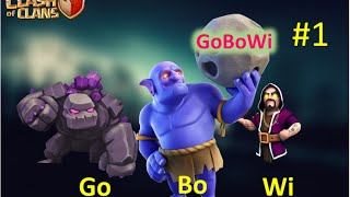 GOBOWI | GOLEM + BOWLER | New TH10 Strategy for WAR ATTACK | WAR PROOF | Clash Of Clans
