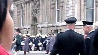 Remembrance Parade, 2010, cenotaph, London.