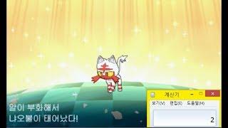 이로치 냐오불 부화루프 진행영상(포켓몬스터 썬/문) / Shiny Litten by RNG Reporter Hatching