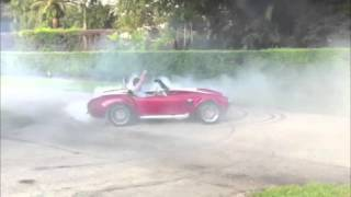 MOMO. Making donuts happen for decades. AC Cobra