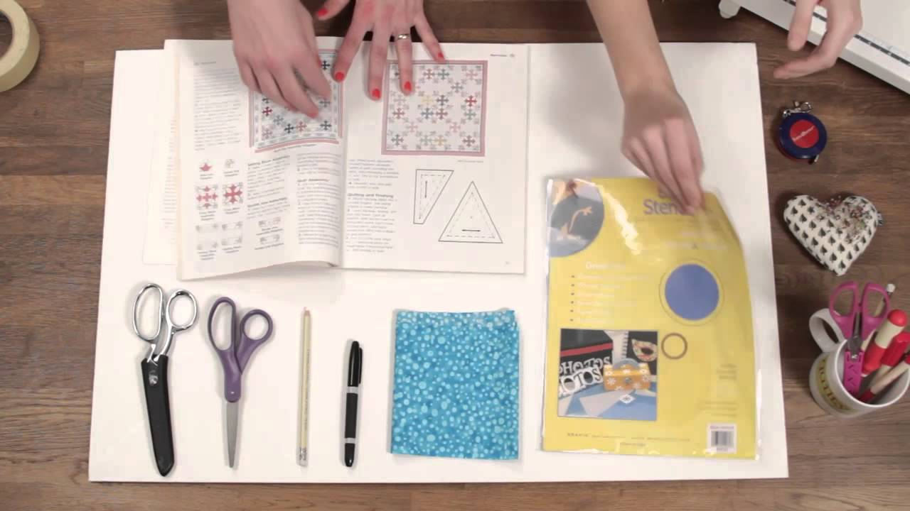 Quilty How To Make Your Own Quilt Templates Youtube