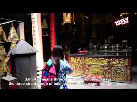 12flyTV - Jane at Sam Kai Vui Kun (Kuan Ti Temple)