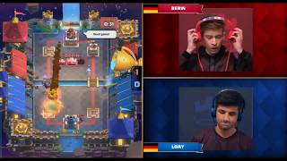 Berin Vs Loay | Clash Royale Crown Championship EU Fall 2017 Finals