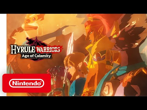Hyrule Warriors: Age of Calamity - Announcement Trailer - Nintendo Switch