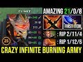 Total Ownage!!! First ITEM 16Min Scepter Clinkz Crazy Damage With Infinite Burning Army DotA 2 Pro