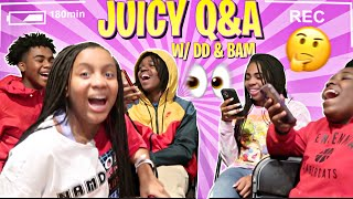 JUICY Q&A FEAT. DD & BAM [VLOGMAS DAY 5]