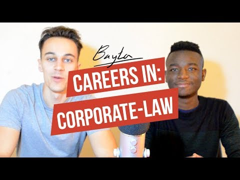 Careers In: Corporate Law! Getting Into Magic Circle Law Firms With Yemi Adeola