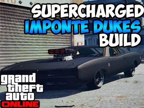 GTA 5 Online Best Imponte Dukes Customization Supercharged 750HP Car Builds