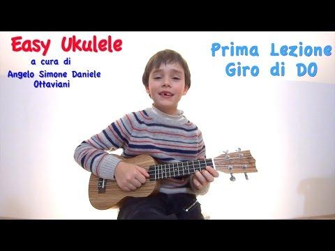 Easy Ukulele - Prima Lezione - Giro di DO