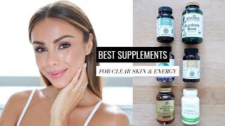 BEST SUPPLEMENTS FOR CLEAR SKIN & ENERGY | Annie Jaffrey