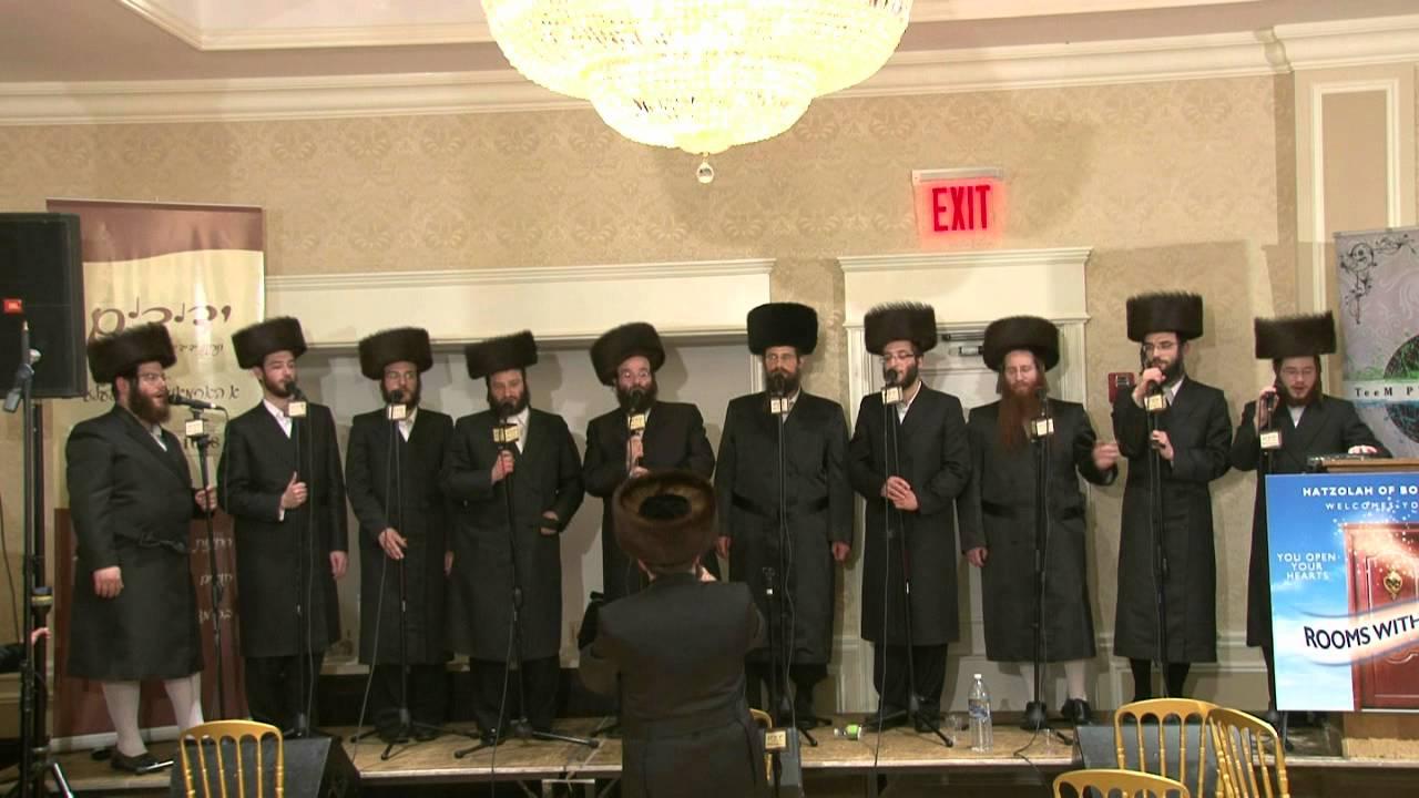 Yedidim Choir at Boro Park Hatzolah Auction