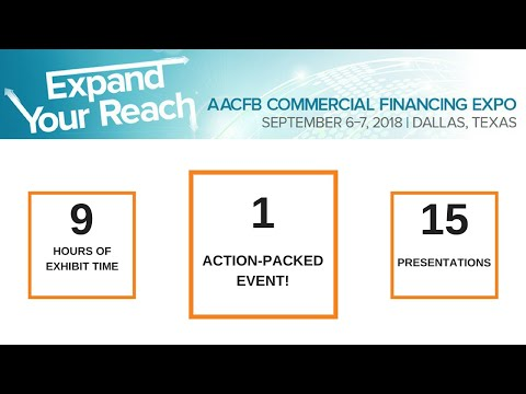 AACFB Commercial Financing Expo