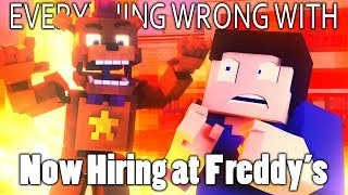 Everything Wrong With Now Hiring At Freddy's In 12 Minutes Or Less