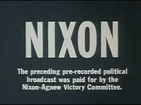 Nixon - American Youth 1968 Election Ad