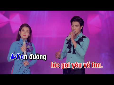 Karaoke - Con đường mang tên em - ĐÔNG XUÂN PHÚ ft Thu Mỵ