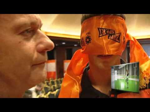 Klaas Jan Huntelaar gebroken neus