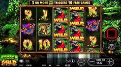 Ainsworth Slot Game Amazon Gold Big Win