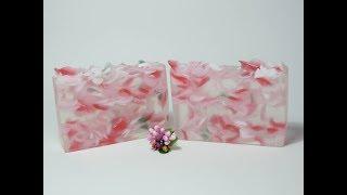как сделать мыло из лепестков роз