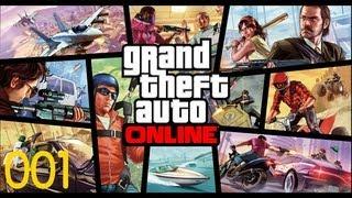 Let's Play GTA 5 Online [Deutsch/HD] - XBox 360 #001