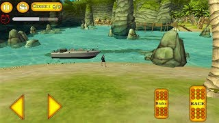 Boat Racing Water Taxi And Beach Rescue 3D Game