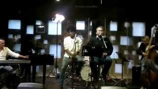 Doni Joesran & Indra Aziz performing Times Of Yersterday at I Can Studio Live