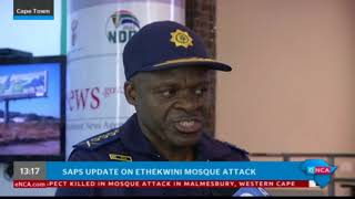 Khehla Sithole speaks to eNCA about Ethekwini mosque attack