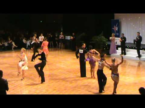 Adult Open Latin Jive 2008 South Pacific Championship