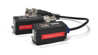 Подключаем камеру AHD и HDCVI по кабелю витая пара к видеорегистратору(, 2015-11-16T01:09:50.000Z)