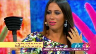 Élő adásban kérte meg párja kezét az év macsója! - tv2.hu/fem3cafe